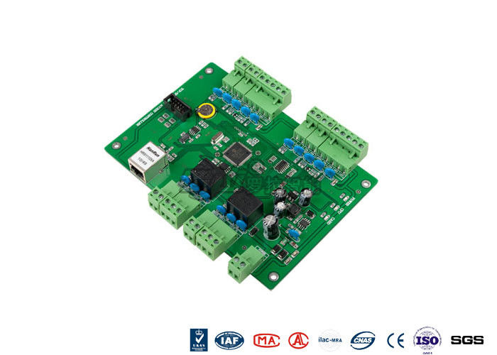 Web Standalone 2 Doors Access Entry Control Board With TCP Interface