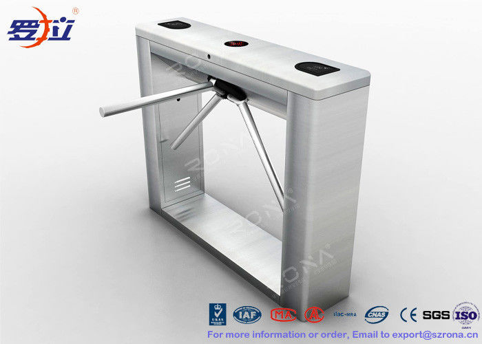 RFID Reader Turnstile Entrance Gates Tripod With Access Control Panel