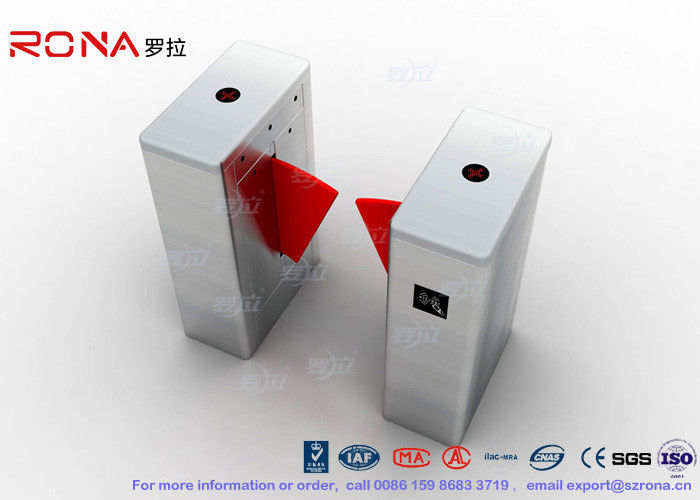 RFID Recognition Flap Barrier Gate