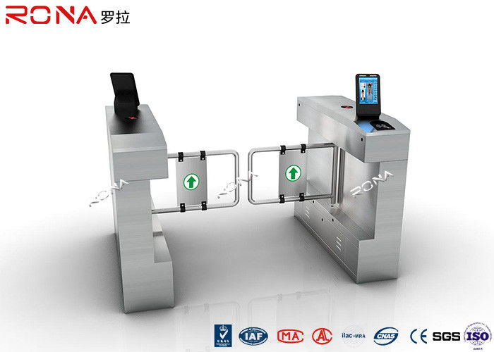 Access Control Swing Facial Recognition Turnstile Gate Door Integrating Durable