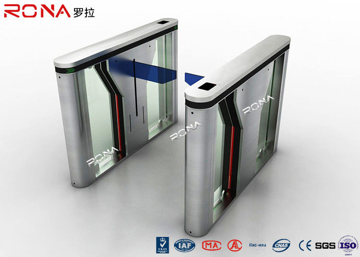 Drop Arm Electronic Barrier Gates Two Door / Way Assemble Access Control