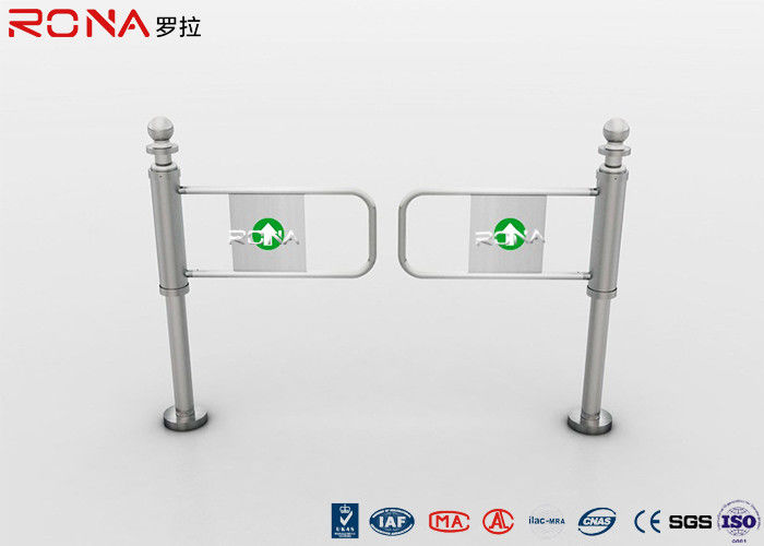 Security System Automatic Half Height Turnstiles Swing Gate For Intelligent Building