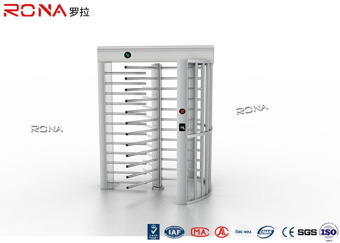Security Baffle Gate Full High Turnstile 30 Persons / Minute For Prisons Turnstiles